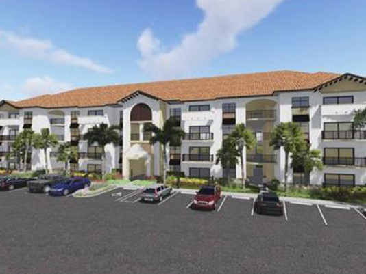 Work begins on Milano Lakes Apartments in Naples